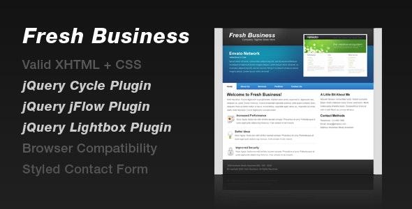 Fresh Business - Portfolio Creative