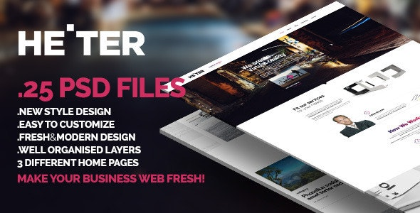 Heiter - Fresh Design. Excellent for Business - Business Corporate