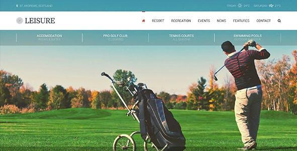 Leisure - Hotel, Resort & Spa HTML Template