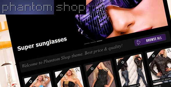 Phantom Shop - Shopify eCommerce