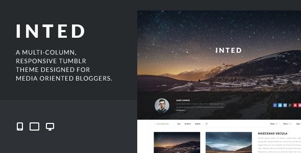 Inted - Multi-column, Responsive HTML5 Theme - Portfolio Creative