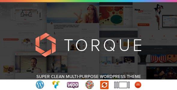 Torque - Responsive WordPress Multi-Purpose Theme