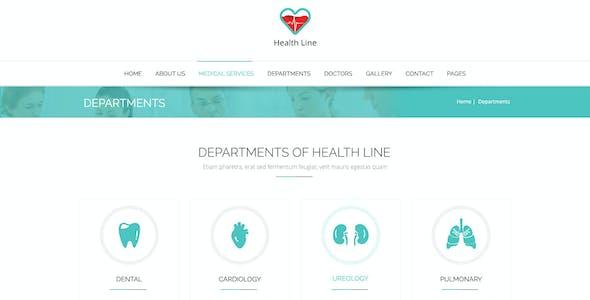 Health Line - Medic PSD Template