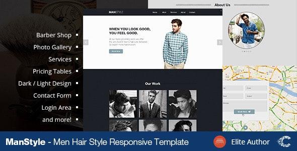 Men's Hair Salon - Beauty - Health & Beauty Retail