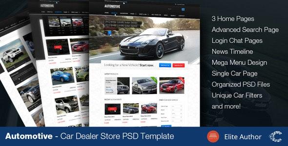 Automotive - Car Dealer  - Business Corporate