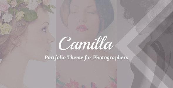 Camilla – Horizontal Fullscreen Photography Theme!