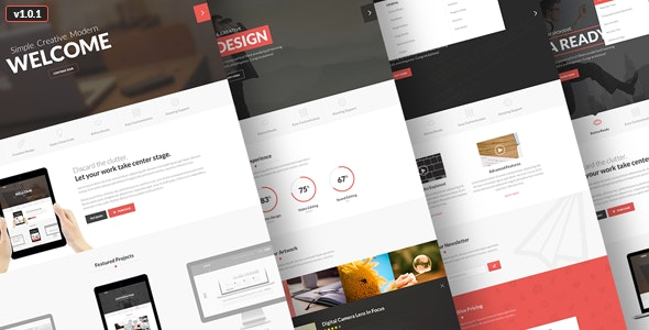 Ionic Responsive Template v1.0.1 - Site Templates