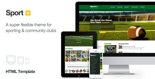 Sport - Sporting Club Template by KennyWilliams