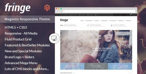 Fringe - Magento Responsive Theme - Shopping Magento