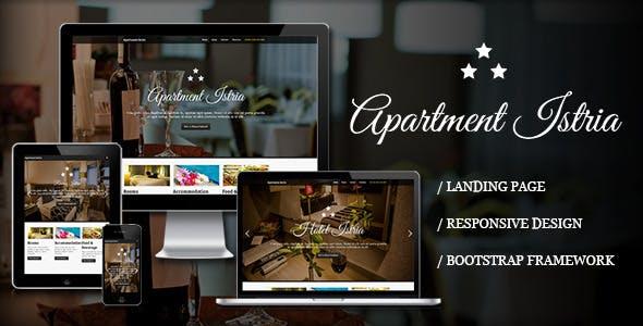 Apartment Istria - Responsive Landing Page