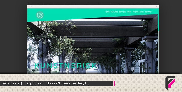 Kunstnerisk a Responsive Theme for Jekyll - Jekyll Static Site Generators