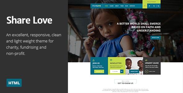 ShareLove | Charity/Non-Profit Parallax HTML Theme - Charity Nonprofit