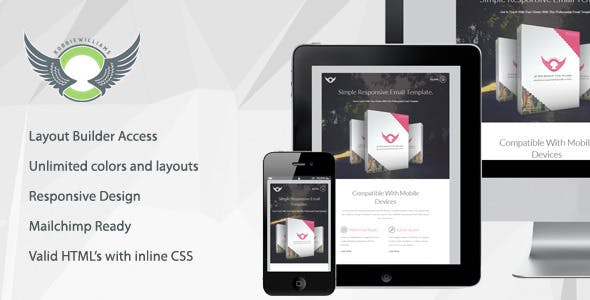 BOX - Clean Responsive Email Template With Builder