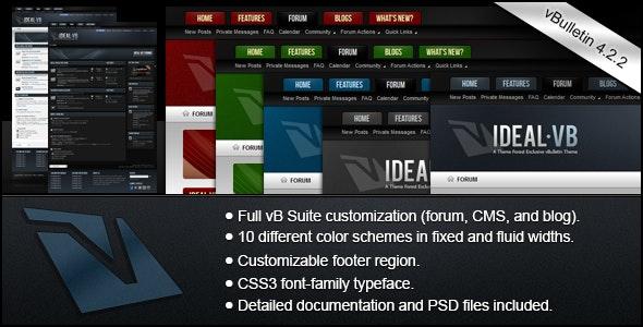 Ideal - A vBulletin 4 Suite Theme - vBulletin Forums