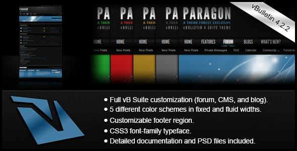 Download Paragon - A vBulletin 4 Suite Theme