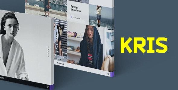 Kris | PSD Template - Fashion Retail