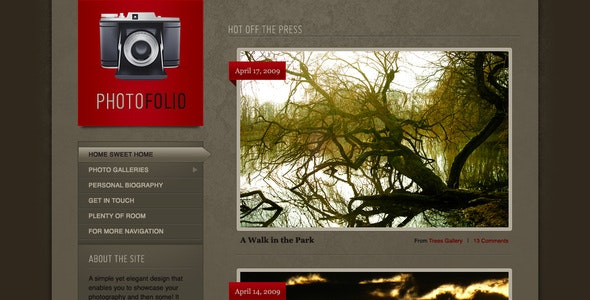 Photofolio - Photography Creative