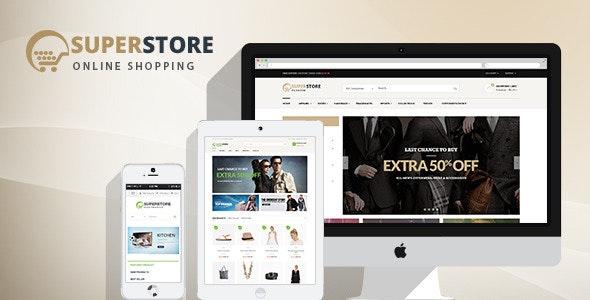 SuperStore - Woocommerce WordPress Theme - WooCommerce eCommerce