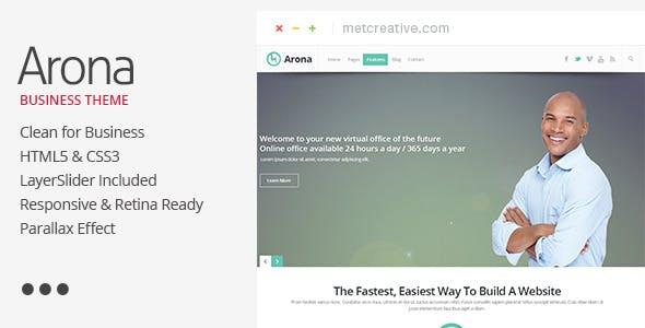 Arona - Creative Business Theme
