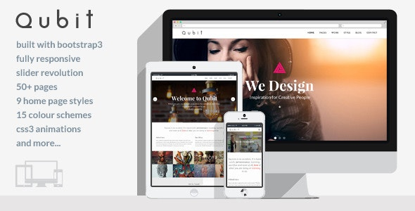 Qubit - Responsive MultiPurpose HTML5 Template - Business Corporate