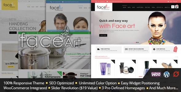 Face Art - WooCommerce Responsive Theme - WooCommerce eCommerce
