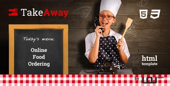 TakeAway - Restaurant & Online Food Ordering - Food Retail