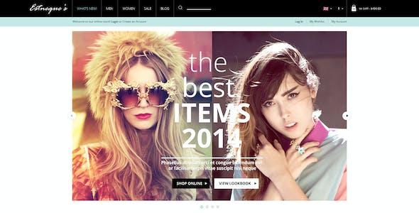 Responsive Fashion OpenCart Theme - EstNeque