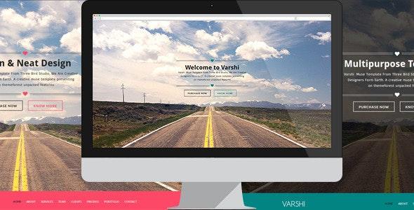 Varshi | Multi-Purpose Muse Template - Corporate Muse Templates