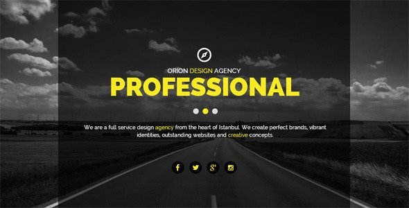Orion Creative Muse Template - Creative Muse Templates
