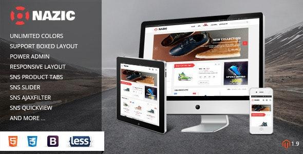 SNS Nazic - Premium Responsive Magento Theme - Magento eCommerce