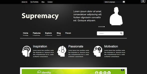 Supremacy - Premium Joomla Template