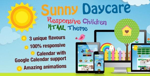 Daycare - Responsive Kindergarden HTML Template - Children Retail