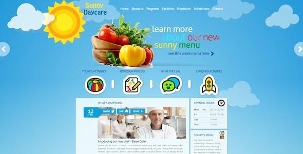 Daycare - Responsive Kindergarden HTML Template