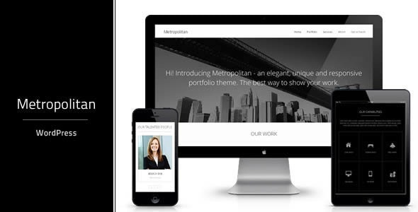 Metropolitan | Multi-Purpose WordPress theme - Corporate WordPress