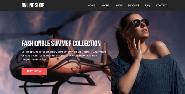 Download Online Shop - eCommerce Muse Template
