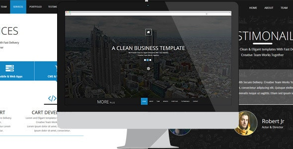 More Plus - Muse Template - Muse Templates