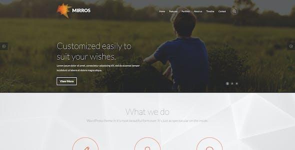 MIRROS - PSD Template