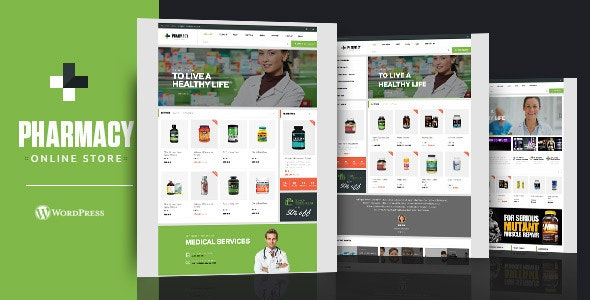 Pharmacy WooCommerce WordPress Responsive Theme