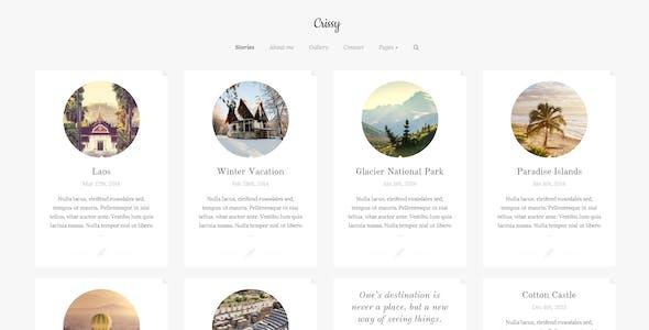 Crissy - Responsive WordPress Theme