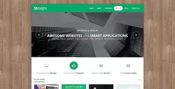 Straight - Multipurpose WordPress Theme