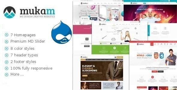 Mukam - Limitless Multipurpose eCommerce Drupal Theme - Miscellaneous Drupal