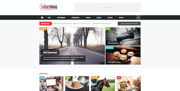 LightMag - Magazine PSD Template