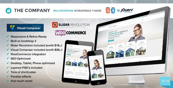 The Company - Responsive Multi-Purpose Theme - Business Corporate