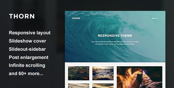 Thorn - Responsive Grid Theme - Blog Tumblr