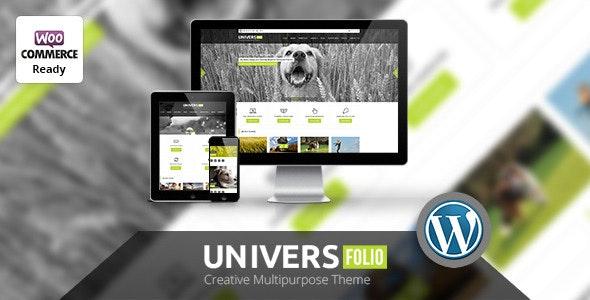 Universfolio - Multipurpose WordPress  Theme - Corporate WordPress