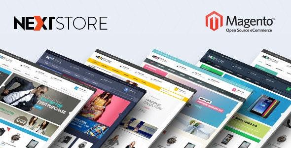 Venus Next Store Responsive Magento Theme - Shopping Magento