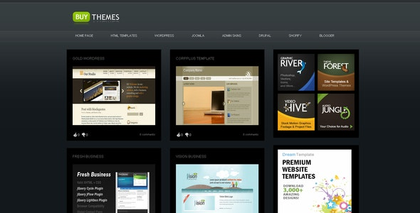 Buy Themes - Blogger Gallery Template by settysantu