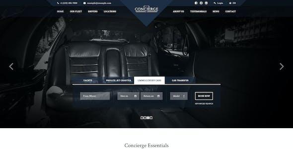 Concierge - Luxury Lifestyle Services HTML