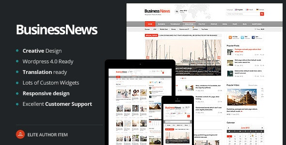 Business News - Responsive Magazine, News, Blog - Blog / Magazine WordPress
