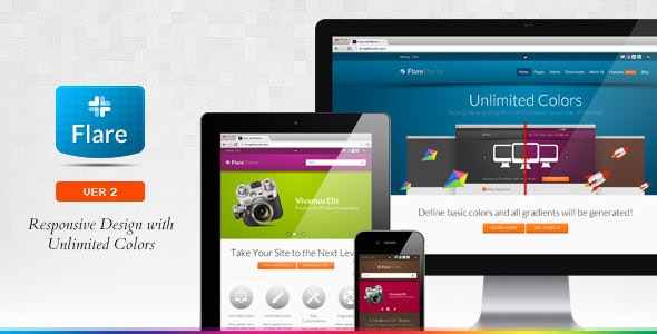 Flare - Responsive Business & Portfolio WP Theme - Business Corporate